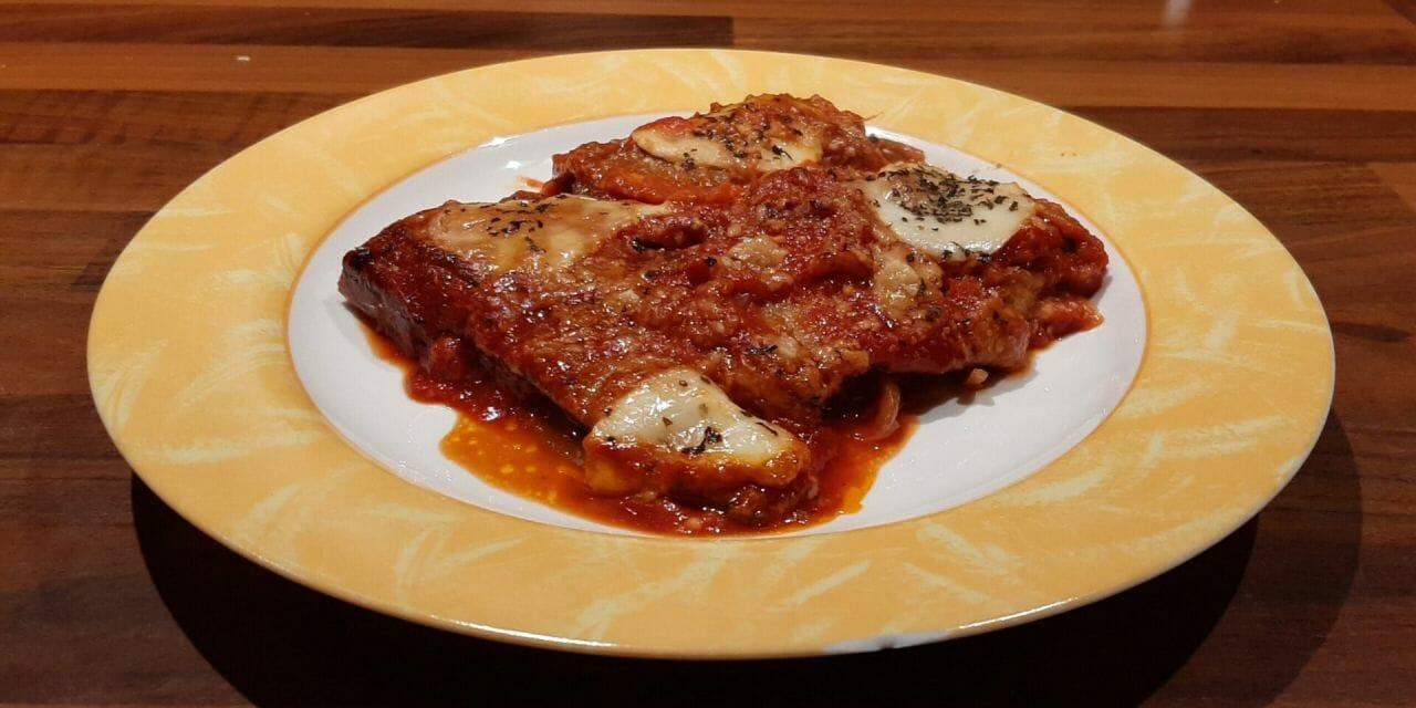 Recette de gratin d'aubergines, mozzarella, tomate et parmesan