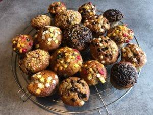 Muffins a la banane 3