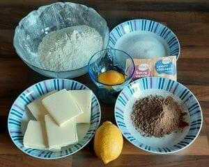 Biscuit deNoel au cacao 1