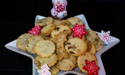 Recette des biscuits de Noël aux noix