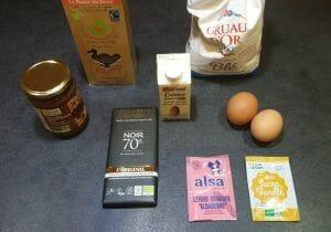 Muffins a la puree de cajou noisettes cacao et pepites de chocolat 1