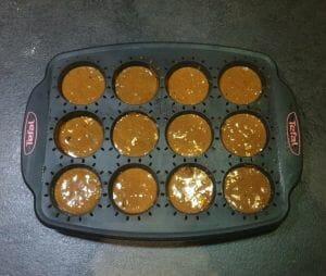 Muffins a la puree de cajou noisettes cacao et pepites de chocolat 13