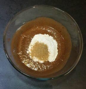 Muffins a la puree de cajou noisettes cacao et pepites de chocolat 9