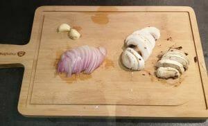 Nouilles aux oeufs sautees aux legumes 2