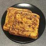 Recette du pain perdu à la vanille et à la cannelle