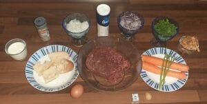 Roti de hachis aux légumes