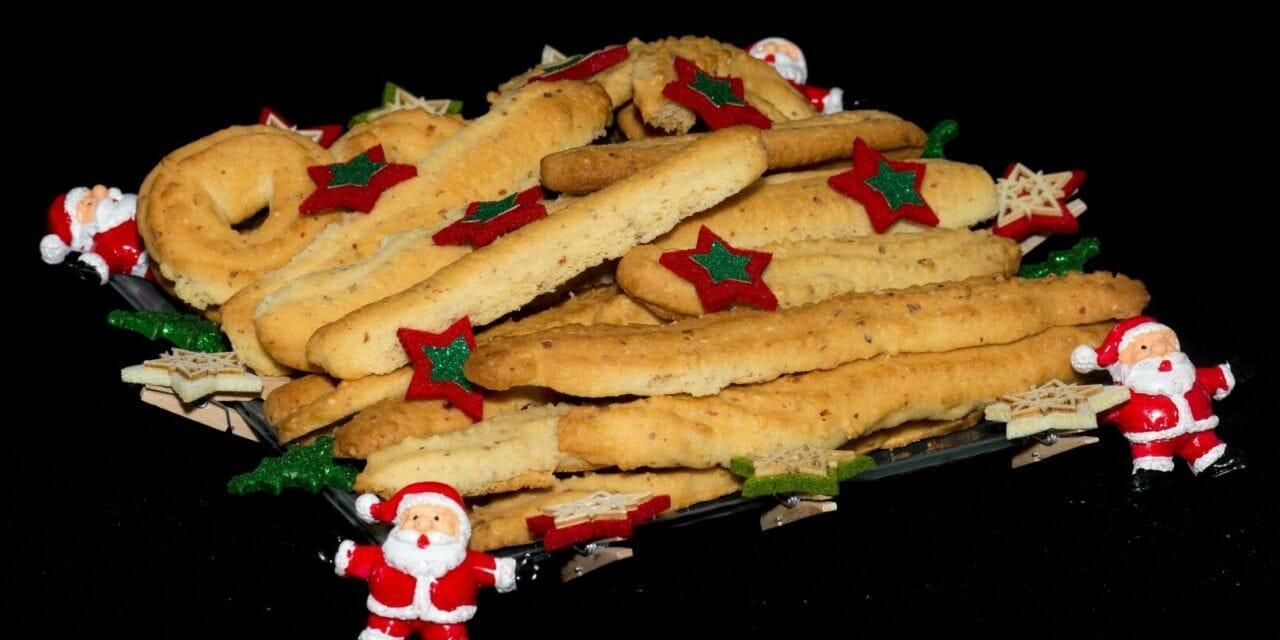Recette de Spritz : Petits gâteaux de Noël Alsaciens aux amandes