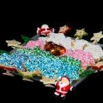 Recette de petits sablés de Noël : Étoiles colorées