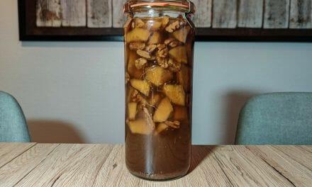 Recette du Rhum arrangé Pomme et noix de pécan
