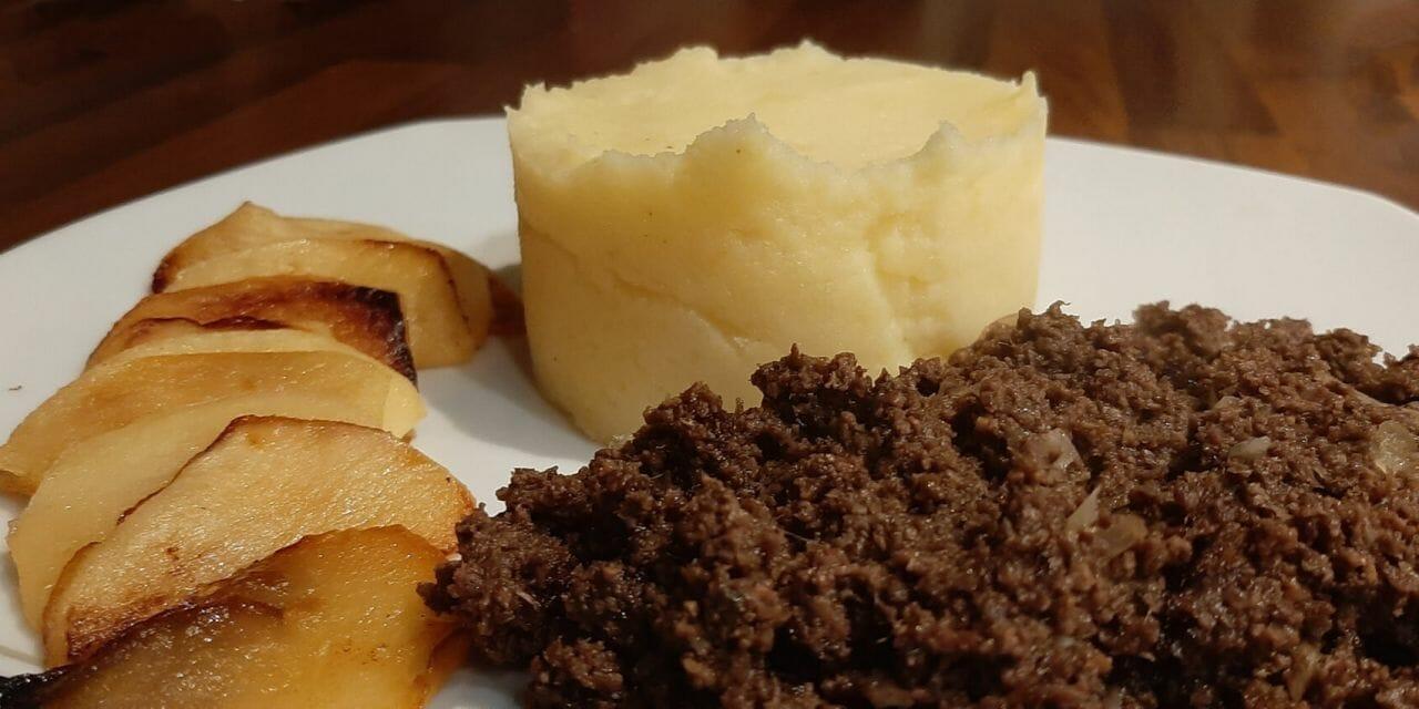 Recette du Boudin noir poêlé aux pommes