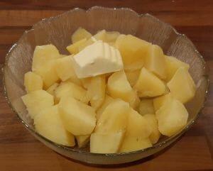 Boudin noir poêlé aux pommes
