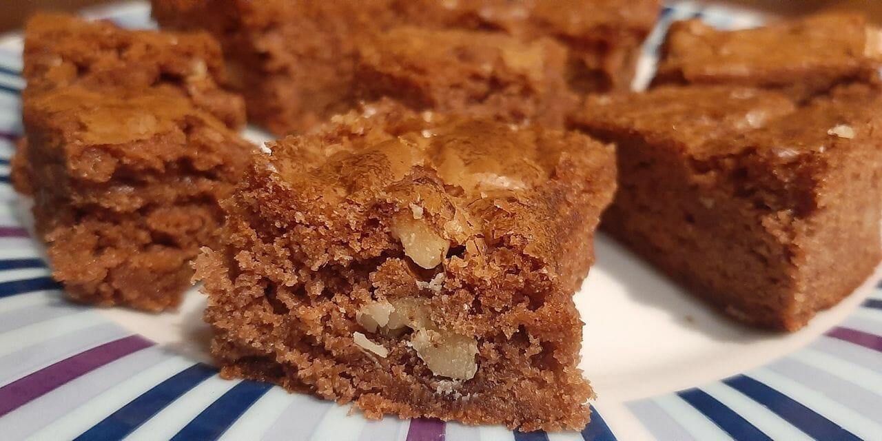 Recette de Brownies au chocolat et aux noix