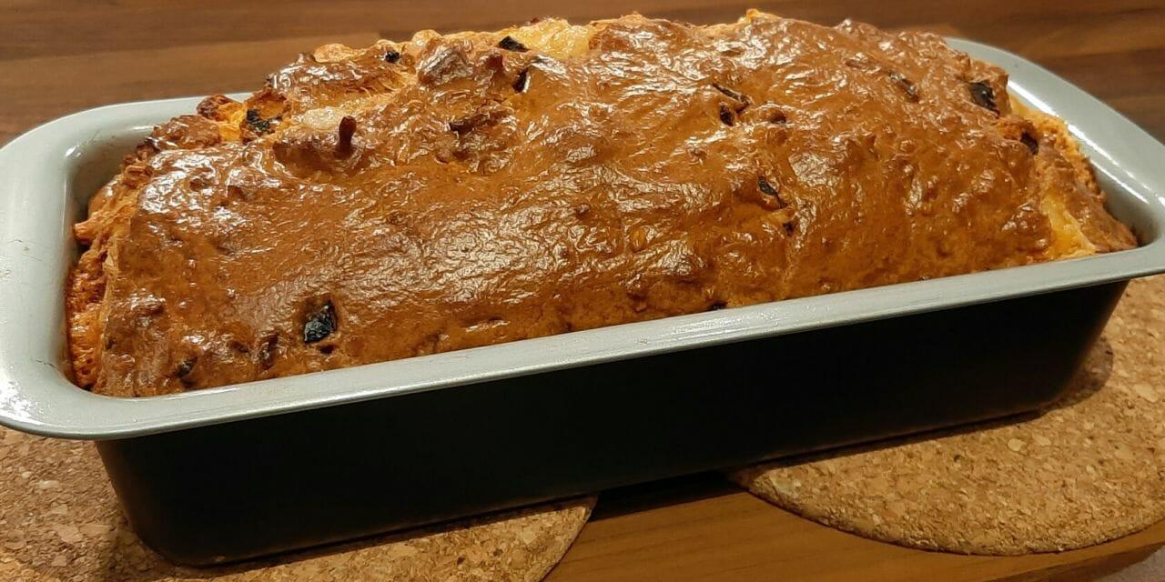 Recette du Cake maroilles et chorizo