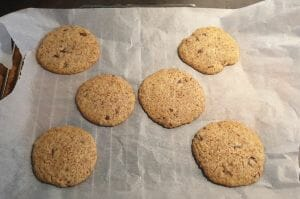 Cookies spéculoos et pépites de chocolat