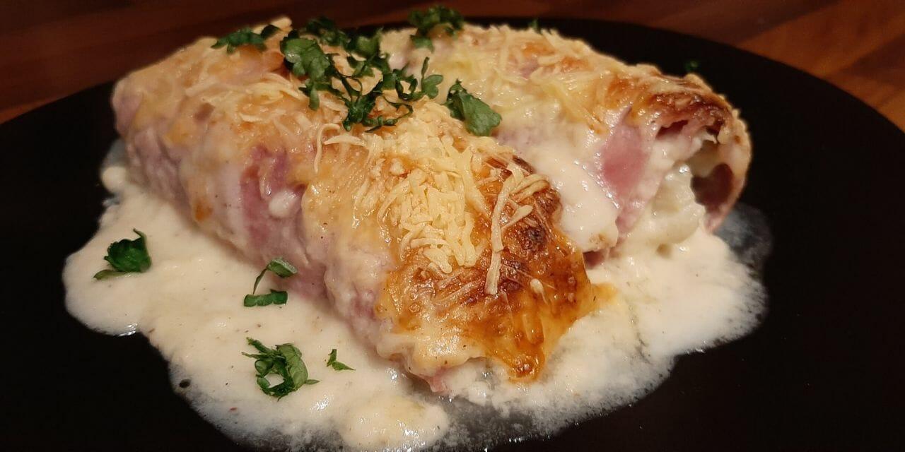 Recette des Endives au jambon gratinées (chicons)