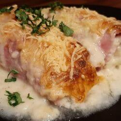 Endives au jambon gratinées (chicons)