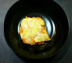 Gratin carottes patate douce