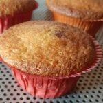 Recette de Muffins aux griottes et pépites de chocolat