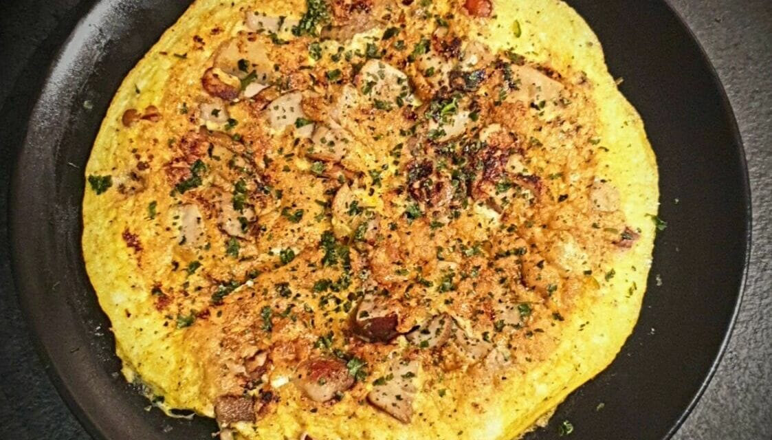 Recette d'une Omelette aux cèpes