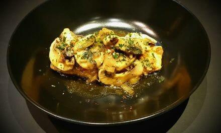 Recette de Papillote de saumon mariné façon asiatique