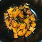 Recette de Patates douces rôties au four façon asiatique