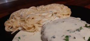 Pâtes au roquefort