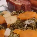 Recette d'une Potée au chou kale à la saucisse de Morteau
