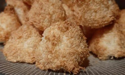 Recette des Rochers à la noix de coco
