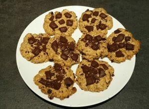 Sablés façon cookies aux pépites de chocolat