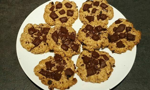 Recette de Sablés (façon cookies) aux pépites de chocolat