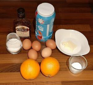 Soufflés à l'orange et Cognac