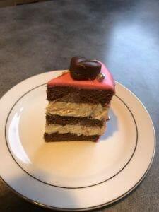 LE COEUR DE L'AMOUR - Gâteau