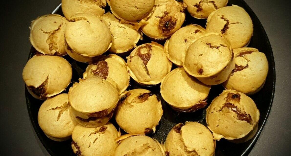 Recette de Muffins cœur coulant (à la pâte à tartiner)