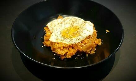 Recette de Riz frit au kimchi