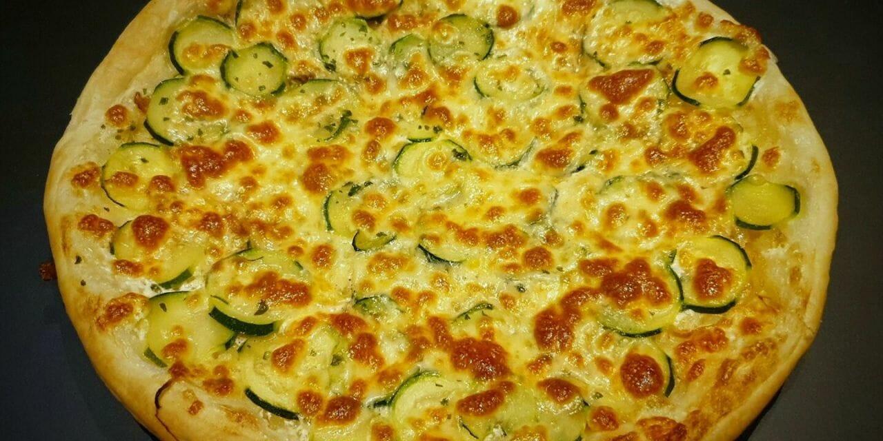 Recette de Tarte à la courgette et mozzarella