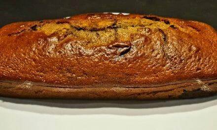 Recette de Cake au yaourt marbré à la vanille et au cacao
