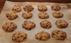 Cookies aux pépites de chocolat du chef Conticini