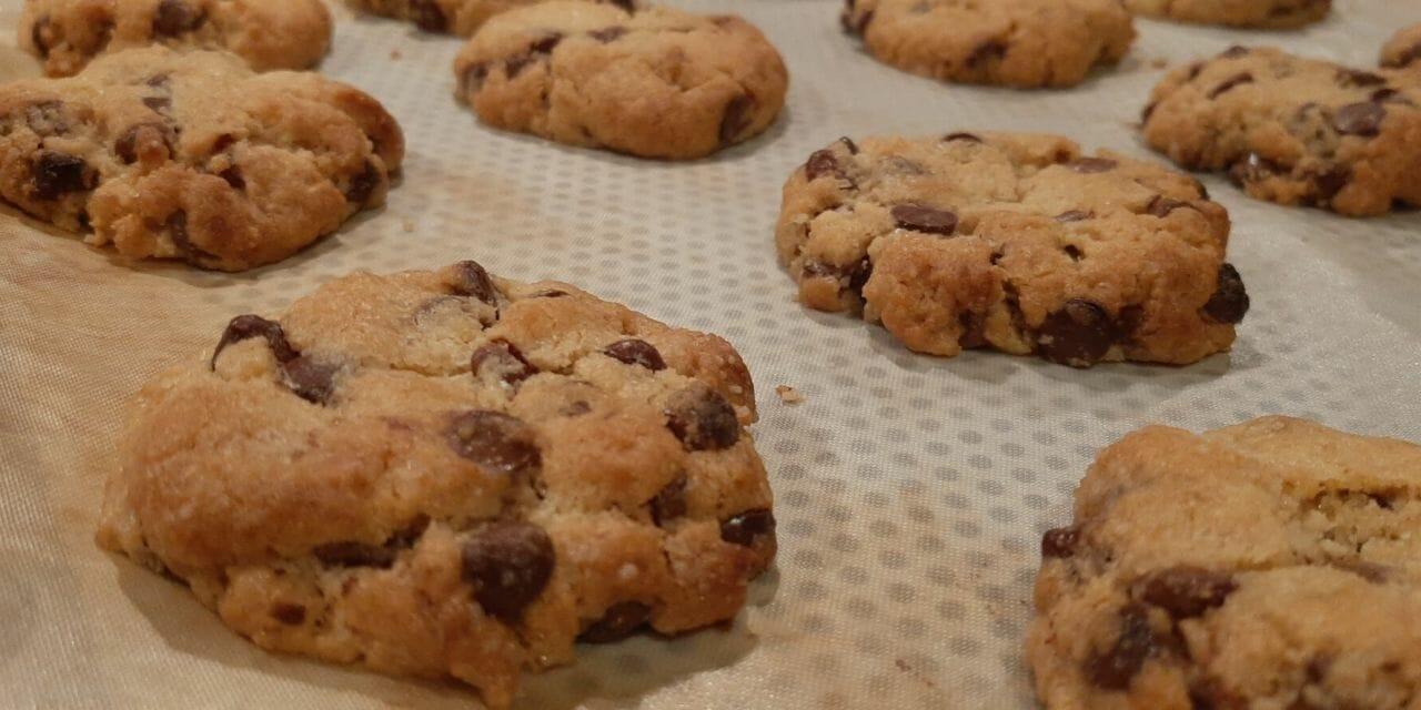 Recette de Cookies aux pépites de chocolat du chef Conticini