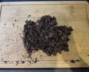 Cookies noisette et pépites de chocolat