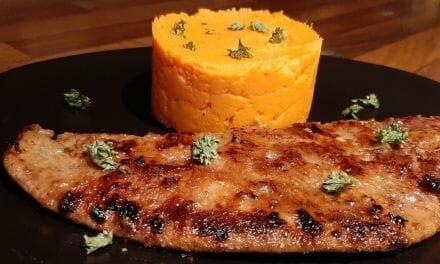 Recette de Foie de veau avec sa purée de patates douces