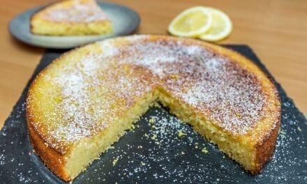 Recette du Gâteau moelleux au citron de Cyril Lignac