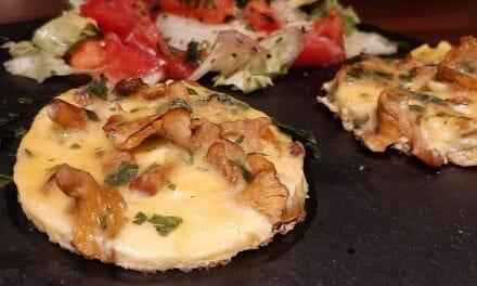 Recette d'Omelette aux girolles