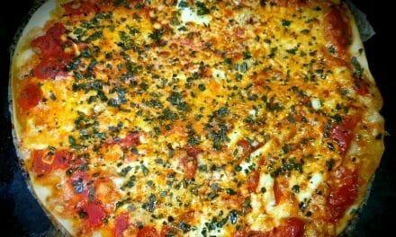 Recette d'une Pizza margherita maison