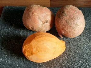 Purée de patates douces maison