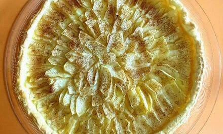 Recette de Tarte aux pommes à la cannelle