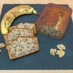 Recette de Banana bread aux noix ultra moelleux (cake à la banane)