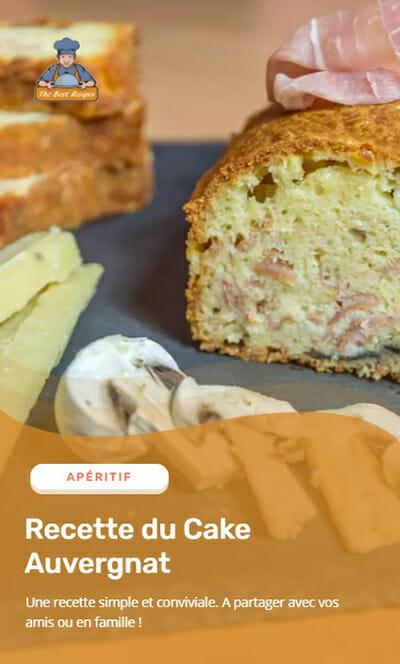Recette Web Story Cake Auvergnat