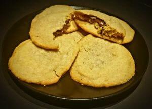 Cookies XXL fourrés au chocolat