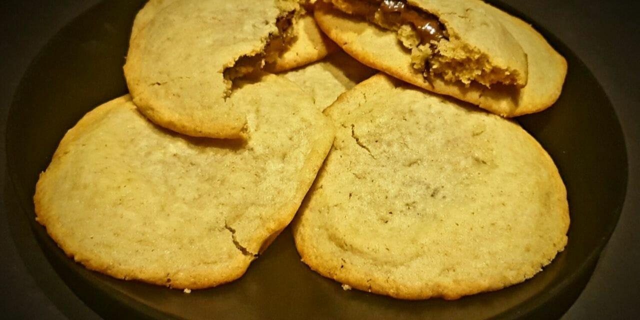 Recette de Cookies XXL fourrés au chocolat