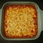 Recette de Gratin de courgettes à la sauce tomate et à la mozzarella